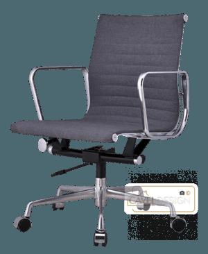 Een eames ea117 bureaustoel is uitermate ergonomisch